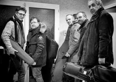 Romane et Bouvelle Quintet, Collectif Tralal'Air Blois